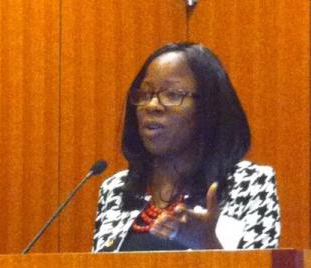 Dr  Olayiwola Attends and Speaks at the Annual Minority